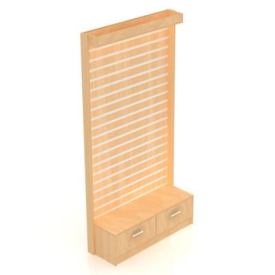 Каркас стойки для экономпанели с малым накопителем, ящиками и световой панелью 2416х1232х421