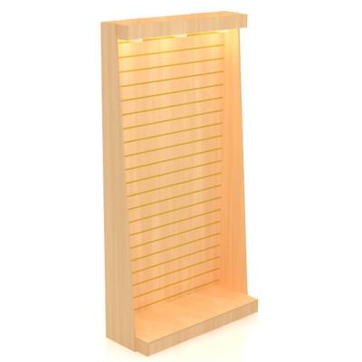 Каркас стойки для экономпанели со световой панелью 2420х1232х450