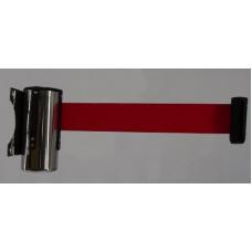 Блок хромированный с вытяжной лентой 3 м, крепление к стене PHL 28