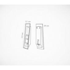 Настенная перекидная система ф.А4 в комплекте с 10 рамами, DATALINE-W