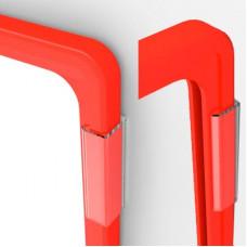 Клипса для крепления рамок к стене и полкам (под углом 0°, 90°), FLU-CLIP 00 (FLU-CLIP 90)