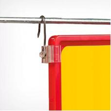 Крючок с подвижным основанием для подвешивания пластиковых рамок, MF-CLIP