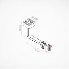 Маятниковый магнитный держатель для пластиковых рамок, MGT-SW