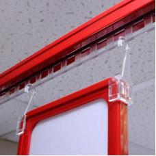 Держатель рамки с крючком для подвешивания (длина крючка: 57 мм), SHT014 (HEHD, F-CLIP)
