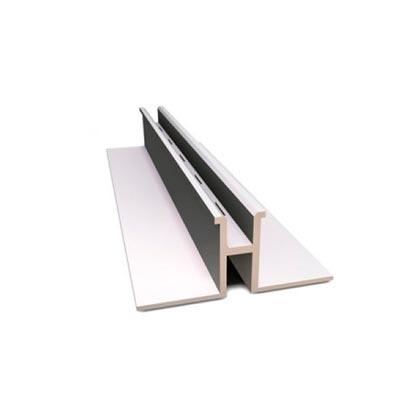 Стойка перфорированная одинарная SLIM (алюминий), SC-2400