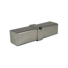 Торцевой соединитель для трубы 25*25 мм, P-911
