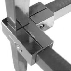Соединитель для трубы 25*25 мм, PR-012