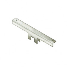 Кронштейн для полок из стекла для трубы 25*25 мм (1шт.), PR-025