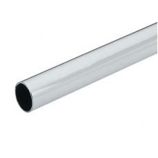 Труба хром d25мм, длина 3000мм, толщина стенки 0,9+/-1