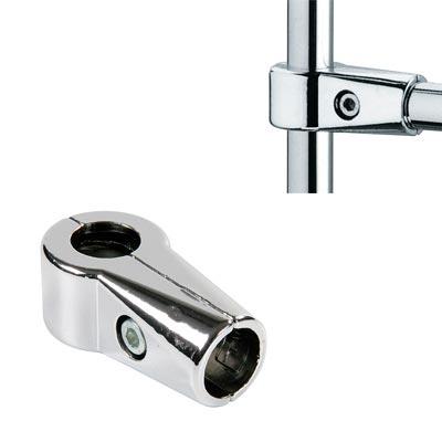 Зажим в 3-х направлениях усиленный, для труб (d=25 мм), R42 / TP21
