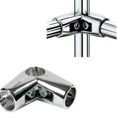 Зажим угловой в 4-х направлениях, для труб (d=25 мм), R43У ( TP04 / T4 / U-4 )