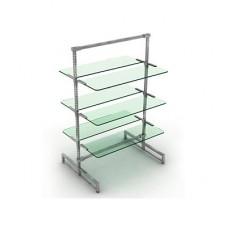 Перфор.стойки и прозрачное стекло PRS.011.GL, PRS.012.GL