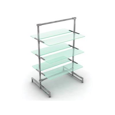 Перфор.стойки и матовое стекло PRS.011.MGL, PRS.012.MGL