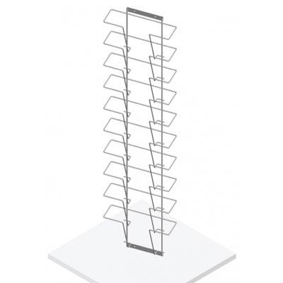 Дисплей горизонтальный 10 ячеек А4, Д05