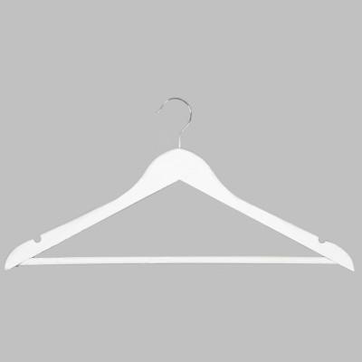 Вешалка-плечики для одежды C30N (бел)