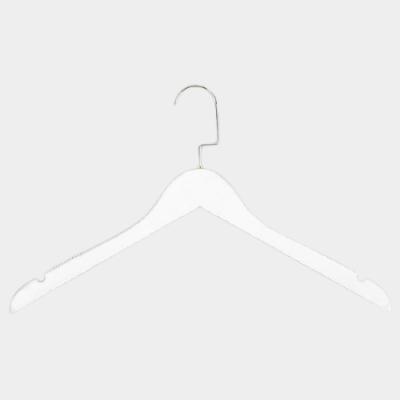 Вешалка-плечики для одежды C31/1 (бел/зол)