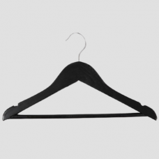 Вешалка-плечики для детской одежды C30N-34 (черн)