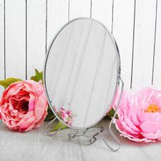 Зеркало складное-подвесное (овальное 22,5*15,5*1 см), ZN-003